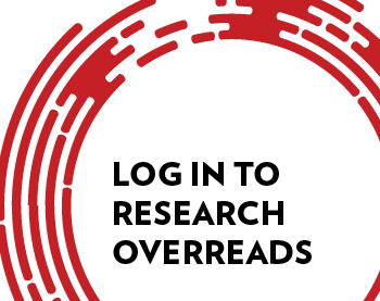 Log in to Research Overreads